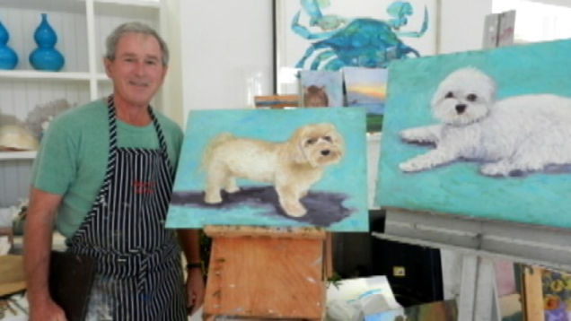 george-bush-dog-painter